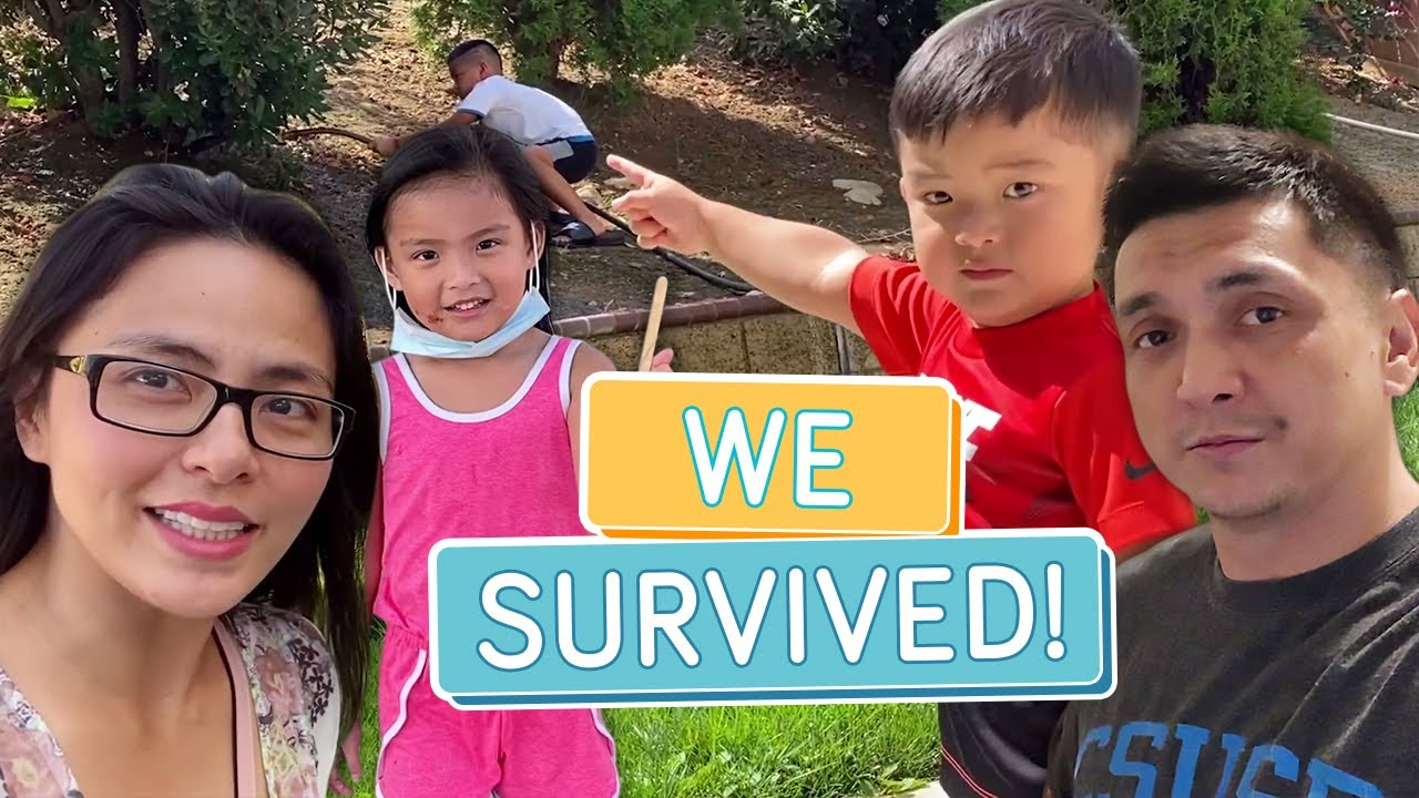 FIRST WEEK ON OUR OWN! (ADJUSTING TO THE NEW LIFE) - Alapag Family Fun