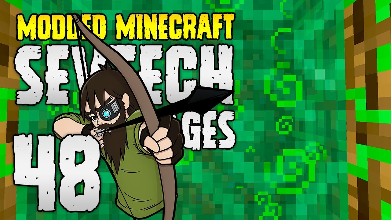 Minecraft SevTech: Ages | 48 | HUNTING ENDER PEARLS! | Modded Minecraft 1.12.2