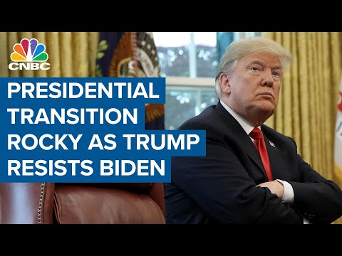 Presidential transition is rocky as Trump administration resists President-elect Joe Biden