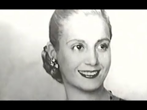 Eva Perón: Intimate Portrait - Evita Argentina Documentary
