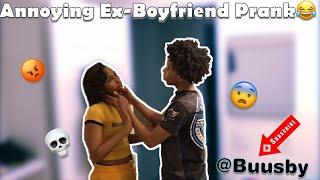 ANNOYING MY EX-GIRLFRIEND PRANK!!!!🚨🤯 (She Hit Me)😱