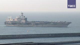Авианосец ВМC США прибыл в Республику Корея