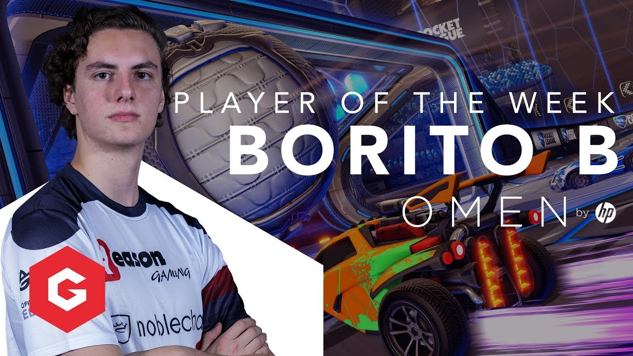 borito b elite series hp omen player of the week 6 rocket league
