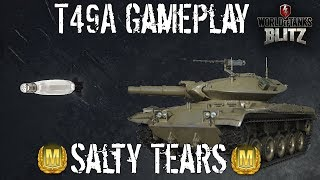 T49A - Gameplay - Salty Tears of Sorrow (and Joy) - Wot Blitz