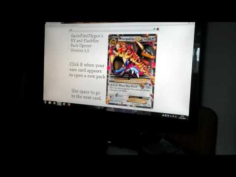 Pokemon pack opening on scratch