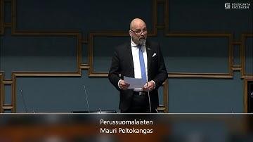 Mauri Peltokangas, voi Suomi parkaa!