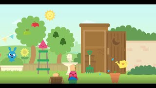 Nursery Sago Mini - Learn about plants 🍄🎋🌱🌻 🌞 #videosforkids #sagomini #forkids #gardens