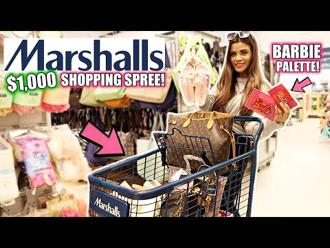 MARSHALLS $1,000 SHOPPING SPREE! *I have no regrets*