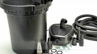 pond uv sterilizer bio pressurized filter w pump pfs300uv