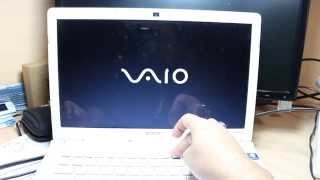 Hard Factory reset to Sony Vaio VP series notebook