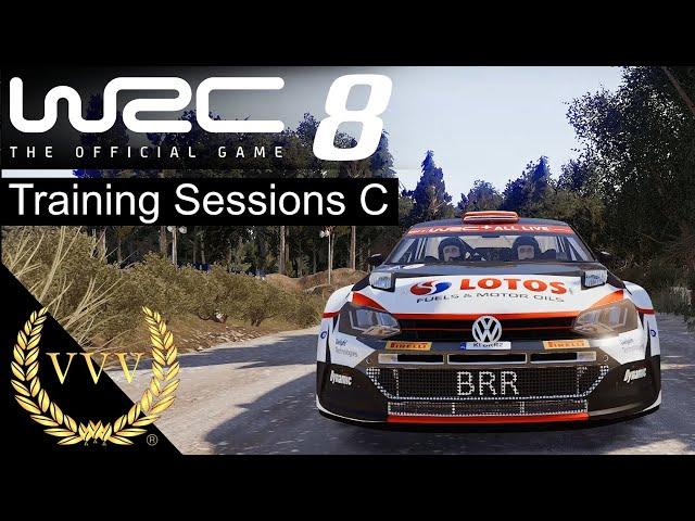 WRC 8 Training Sessions C
