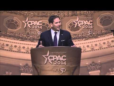 CPAC 2014 - U.S. Senator Marco Rubio (R-FL)