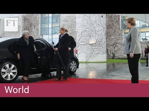 Theresa May asks Merkel for help in Brexit deal