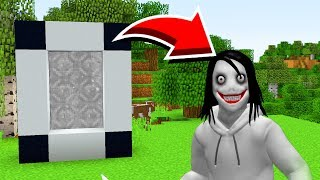 How To Make A Portal To JEFF THE KILLER In Minecraft! (Ps3/Xbox360/PS4/XboxOne/PE/MCPE)