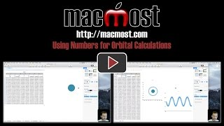 Using Numbers for Orbital Calculations (#1366)