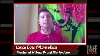 Lance Bass On Hiding His Homosexuality