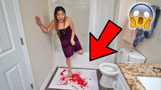 Insane Prank On Girlfriend!! (GONE WRONG)
