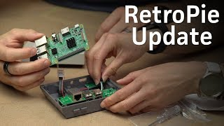 RetroPie build update: Switching to an NES case