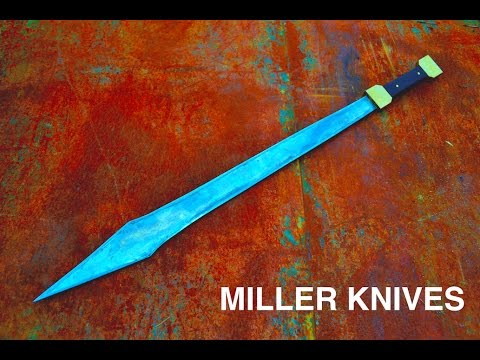 Forging a Roman Gladius Sword