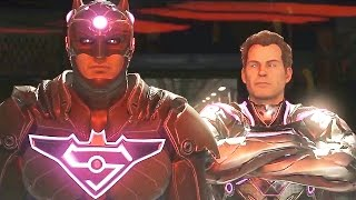 Injustice 2 All Endings Good & Bad (Batman/Superman)
