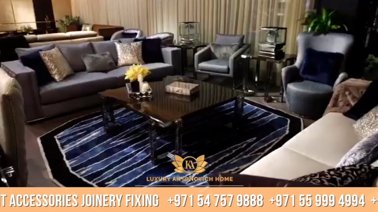 Exclusive Furniture Collection in Luxury Antonovich Home, Dubai!