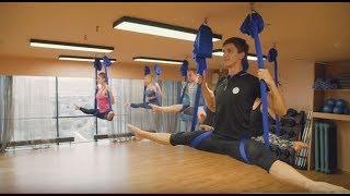 Занятие по йоге в гамаках (Антигравити) в Красноярске | клуб Balance sport&spa