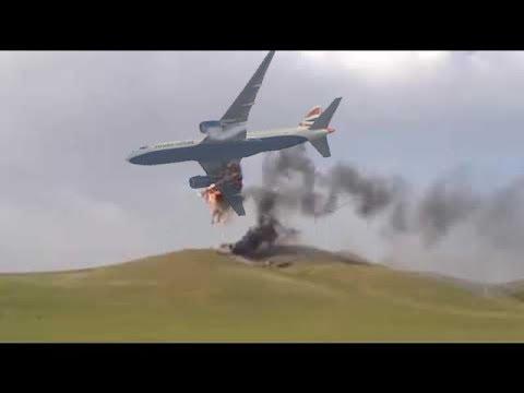 Airplane Crash fatal Compilation - Pilot Error - Emergency Landing Peruvian Airlines Boeing