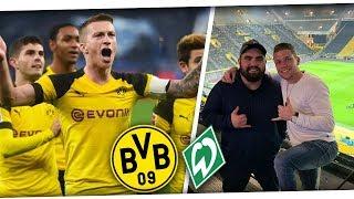 WAS EIN TRAUMTOR! Borussia Dortmund - Werder Bremen 2:1 | Stadionvlog PMTV