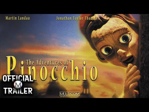 THE ADVENTURES OF PINOCCHIO (1996)   Official Trailer   4K