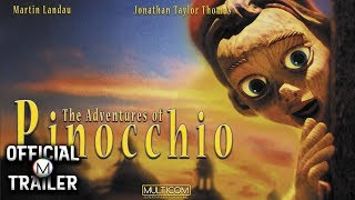 THE ADVENTURES OF PINOCCHIO (1996) | Official Trailer | 4K