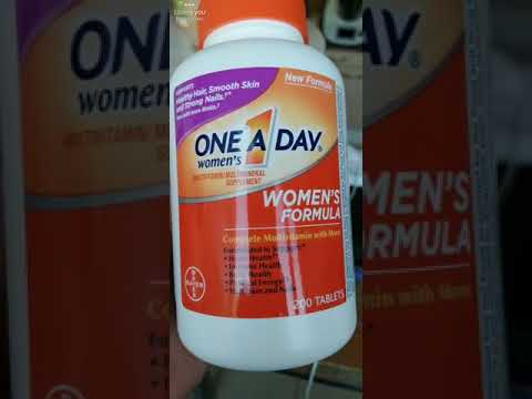 woman's one a day multivitamin