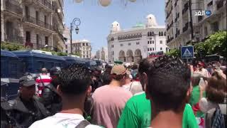 شاهد مطالب المتظاهرين في الجمعة الـ21 من الحراك الشعبي بالجزائر