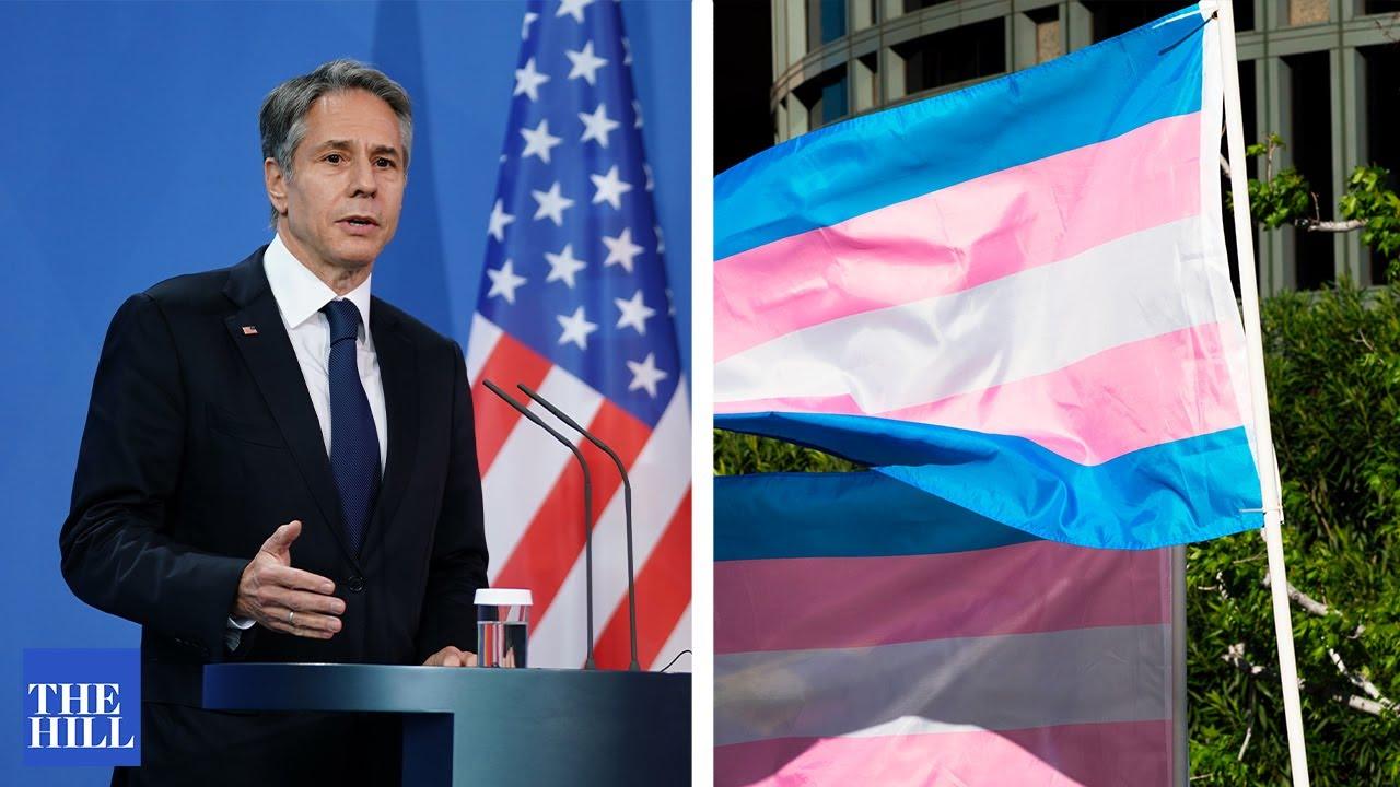 Blinken DEFENDS transgender rights in his UN address