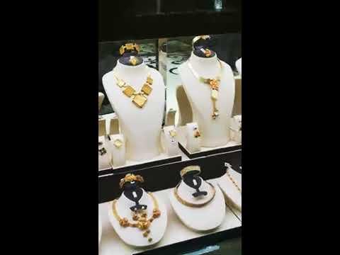 World Famous Gold Souk in Deira Dubai Gold Souk with RN
