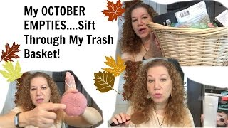 vuclip My October Empties - What Is In My Trash?
