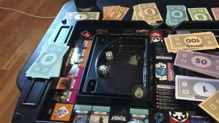 Star wars monopoly review and gameplay