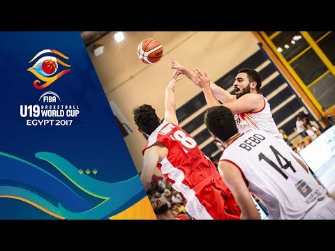 Egypt v Iran - Full Game - CL 9-16 - FIBA U19 Basketball World Cup 2017