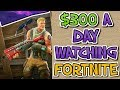 How To Make $300 Per Day Watching Fortnite Videos Online (Automated Method)