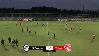 Sturm Graz vs FC Thun full match