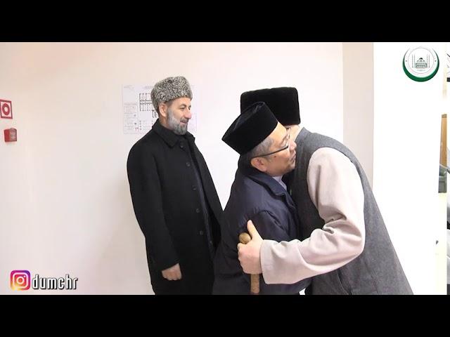 Встреча Муфтия ЧР Салах-Хаджи Межиева с делегацией государства Бруней- Даруссалам