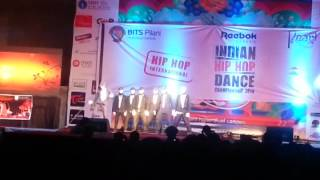 the dynamic 7 @ Indian hip hop championship Bits Pilani Hyderabad