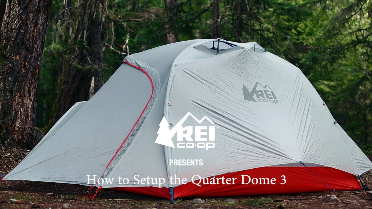 & REI Co-op Quarter Dome 3 Tent at REI