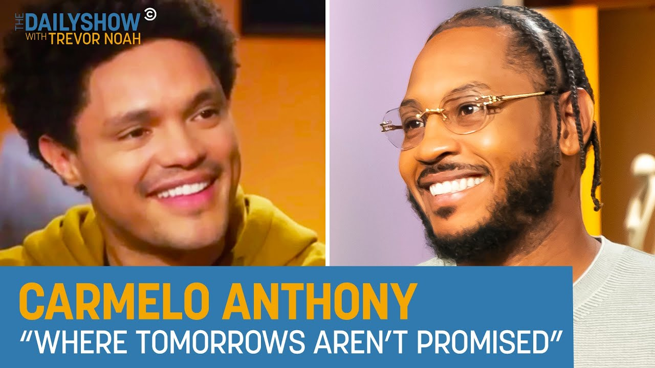 Download Carmelo Anthony - Telling His Story, Overcoming Adversity & Joining the Lakers | The Daily Show