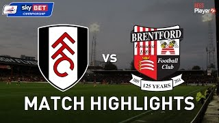 Fulham 1-4 Brentford | The Bees sting local rivals at Craven Cottage on Good Friday