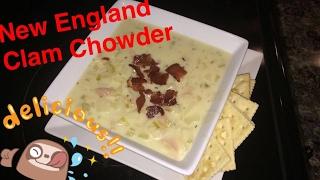 How to Make: New England Clam Chowder