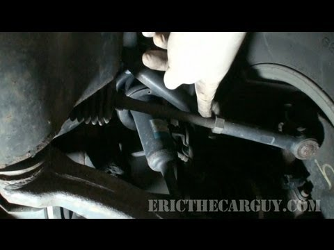 Toyota 4 Runner Power Steering Rack Replacement (Part 1) - EricTheCarGuy