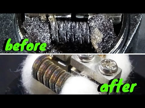 Clean your coils - Clean your atomizer - GEORGE MPEKOS