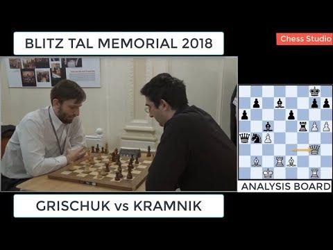 GRISCHUK vs KRAMNIK || BLITZ TAL MEMORIAL 2018