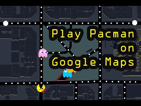 How to Play Pacman Game on Google Maps - YouTube Google Map Play on