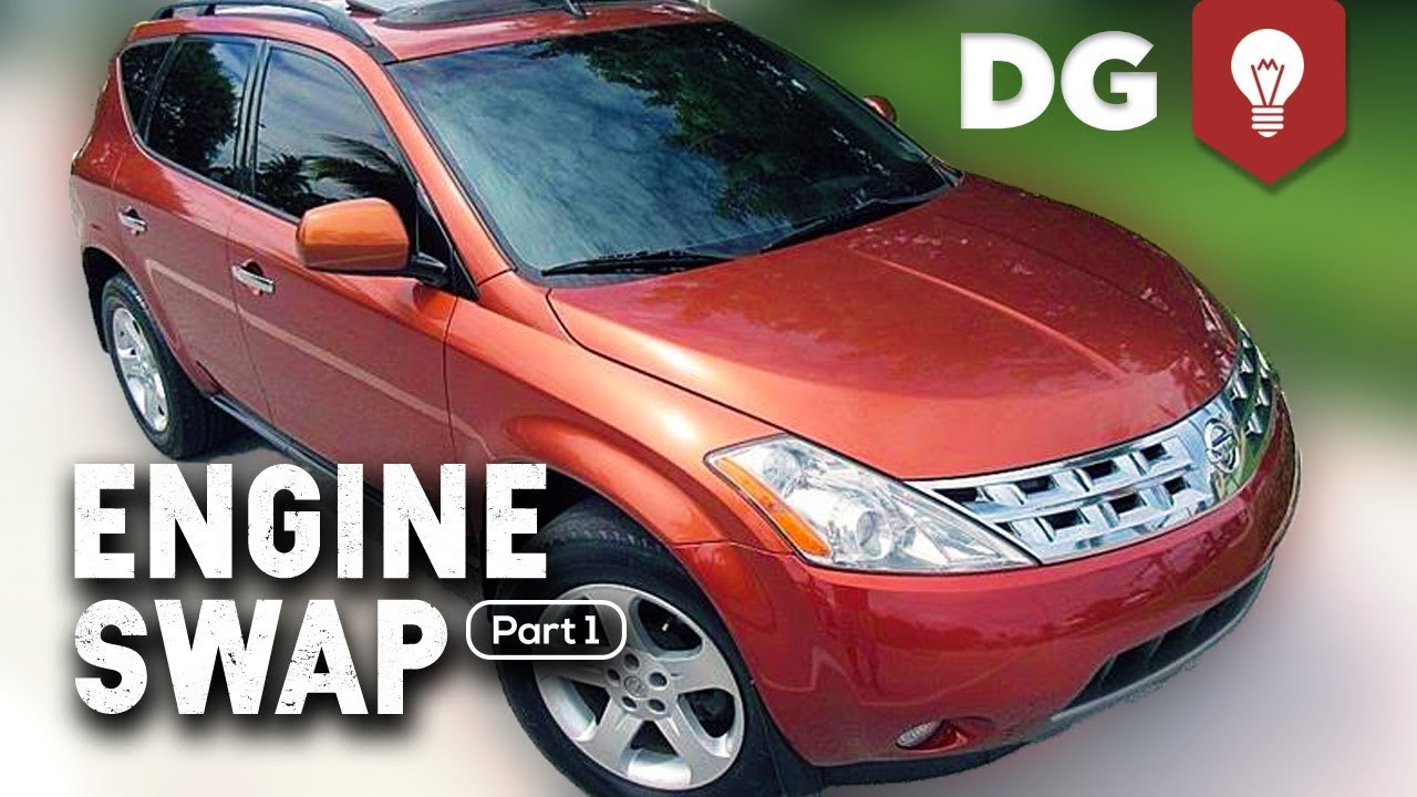 Everything Wrong With A Nissan Murano 3 5 CVT (V6 Swap Part 1)